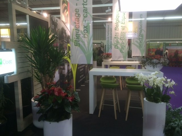 Onze deelname aan salon du vegetal angers 2015 cloet nv for Home salon angers